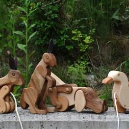 Holzspielzeug beweglich